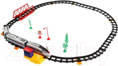 Фото - Железная дорога игрушечная Играем вместе 1901F147-R железные дороги играем вместе железная дорога 308 см