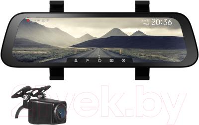 Автомобильный видеорегистратор Xiaomi 70Mai Rearview Dash Cam Wide Midrive D07 + Reversing Cam Midrive