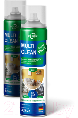 Универсальное чистящее средство Multi Clean Щелочное на водной основе (335мл)