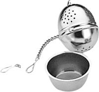Ситечко для чая Tescoma Рresto 420672 (с блюдцем) -