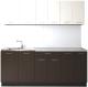 Готовая кухня Артём-Мебель Лана СН-113 без стекла 1.8 (сосна арктическая/венге) -