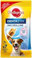 Лакомство для собак Pedigree DentaStix для взрослых собак мелких пород и щенков от 4-х мес. (110г) -