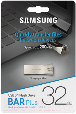 Usb flash накопитель Samsung BAR Plus 32GB (MUF-32BE3/APC)