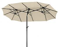 Зонт садовый Testrut Terrassenschirm Luna Natur (465x270) -