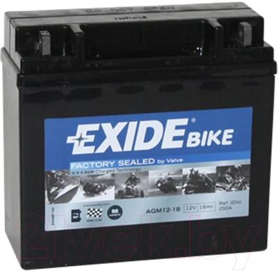 Мотоаккумулятор Exide AGM12-18 (18 А/ч)