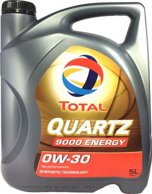 Моторное масло Total Quartz 9000 Energy 0W30 / 151522 (5л)