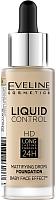 Тональный крем Eveline Cosmetics Liquid Control №015 Light Vanilla инновационный жидкий (32мл) -