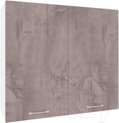 Шкаф навесной для кухни Кортекс-мебель Корнелия Лира ВШ80с