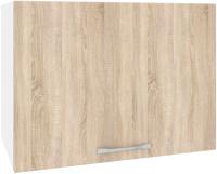 Шкаф под вытяжку Кортекс-мебель Корнелия Лира ВШГ50-1г-360 (дуб сонома) -