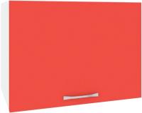 Шкаф под вытяжку Кортекс-мебель Корнелия Лира ВШГ50-1г-360 (красный) -