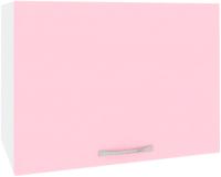 Шкаф под вытяжку Кортекс-мебель Корнелия Лира ВШГ50-1г-360 (розовый) -