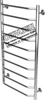 Полотенцесушитель электрический Олимп Лесенка Трапеция 500x1200 (правое подключение) -