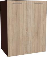 Шкаф под мойку Артём-Мебель СН-114.21 (600) (дуб санома/орех) -