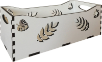 Ящик для хранения Yulisa Цветы / AG-00001 -