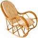 Кресло-качалка Черниговская  фабрика лозовых изделий КК 4/3 (натуральный, с подушкой) -