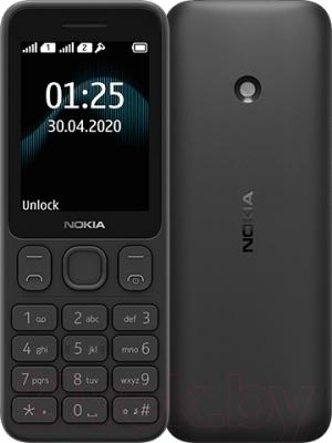 Мобильный телефон Nokia 125 Dual Sim (черный)