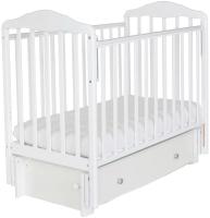 Детская кроватка СКВ Березка / 126001 (белый) -