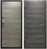 Входная дверь Промет Гамма вяз графит/вяз айс (95x205, левая) -