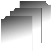 Комплект зеркал для шкафа Лером ЗР-1019 -