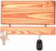 Ключница настенная Yulisa Деревянная маленькая (коричневый) -