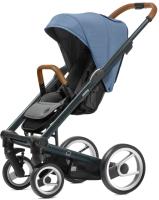 Детская прогулочная коляска Mutsy I2 Heritage (Bright Blue/Green Blue) -