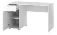 Письменный стол Szynaka Meble Lyon 07 (белый) -