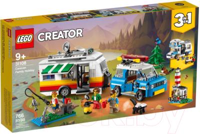 Конструктор Lego Creator Отпуск в доме на колесах / 31108