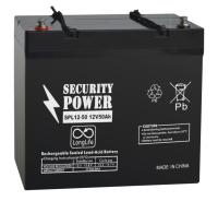 Батарея для ИБП Security Power SPL 12-50 (12V/50Ah) -