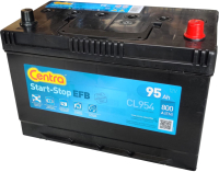 Автомобильный аккумулятор Centra EFB Asia L+ / CL955 (95 А/ч) -