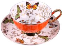 Чашка с блюдцем Darvish DV-H-528-07 -