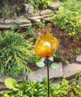 Садовая фигура-светильник Чудесный Сад Тюльпан желтый / 685-Y -