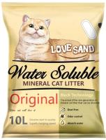Наполнитель для туалета Love Sand Смываемый / LS-020 (10л) -