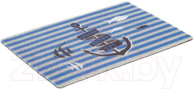 Коврик грязезащитный SunStep Spongy Якорь 40x60 / 38-462