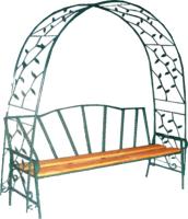 Скамья садовая Станкоинструмент №8 (168х70х210) -
