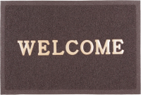 Коврик грязезащитный SunStep Spongy Welcome 50x80 / 38-442 (коричневый) -