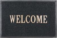 Коврик грязезащитный SunStep Spongy Welcome 50x80 / 38-443 (черный) -