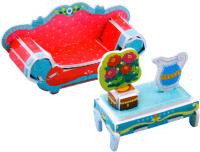 Комплект аксессуаров для кукольного домика Darvish Princess Room LK-8862 / DV-T-2493-C -