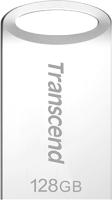 Usb flash накопитель Transcend JetFlash 710 Silver 128GB (TS128GJF710S) -