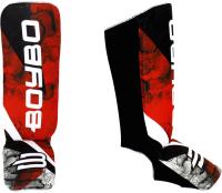 Защита голень-стопа BoyBo Red Flame (XS, красный) -