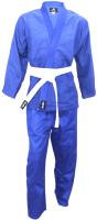 Кимоно для дзюдо BoyBo BK425 (р-р 0/110, синий) -