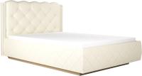 Полуторная кровать Аквилон Капелла №14ПМ (туя светлая) -