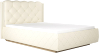 Двуспальная кровать Аквилон Капелла №16М (туя светлая) -