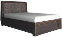 Двуспальная кровать Аквилон Калипсо №16ПМ (венге) -
