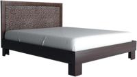 Полуторная кровать Аквилон Калипсо №14М (венге) -