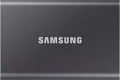 Внешний жесткий диск Samsung T7 Touch 500GB (MU-PC500T/WW)