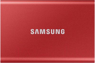 Внешний жесткий диск Samsung T7 Touch 500GB (MU-PC500R/WW)