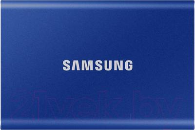 Внешний жесткий диск Samsung T7 Touch 500GB (MU-PC500H/WW)