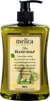 Мыло жидкое Melica Organic С экстрактом оливы для рук (500мл) -