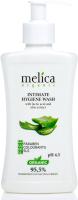 Гель для интимной гигиены Melica Organic Для интимной гигиены с молочной кислотой и экстрактом алоэ (300мл) -