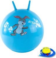 Фитбол с рожками Espado Зайченок / ES2114 (45см, голубой) -